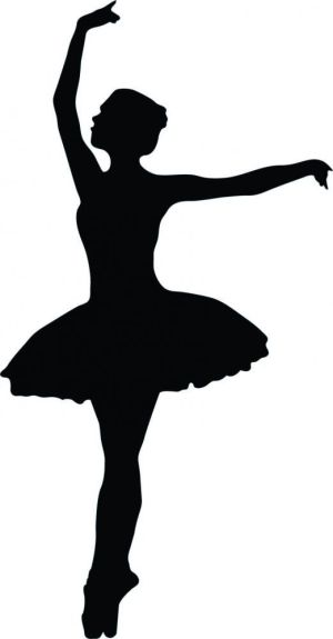 silhouette dancing ballet clipart whoville silhouettes getdrawings