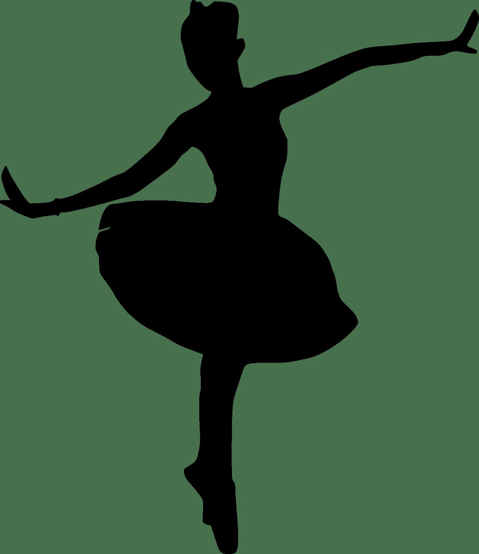 Ballet Slipper Silhouette At Getdrawings