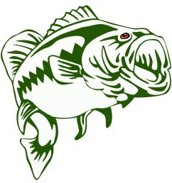 largemouth bass outline frees that you can download to clipart jpg 1401x1427 bass fishing clipart borders [ 1401 x 1427 Pixel ]
