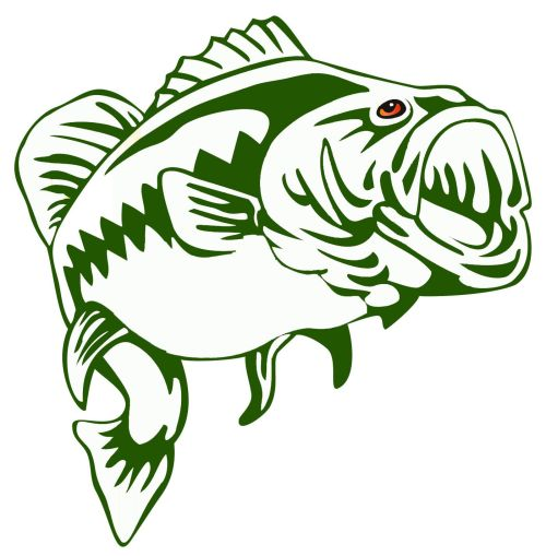 small resolution of largemouth bass outline frees that you can download to clipart jpg 1401x1427 bass fishing clipart borders