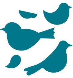 1500x1500 clip art bird outline lemonize [ 1500 x 1500 Pixel ]