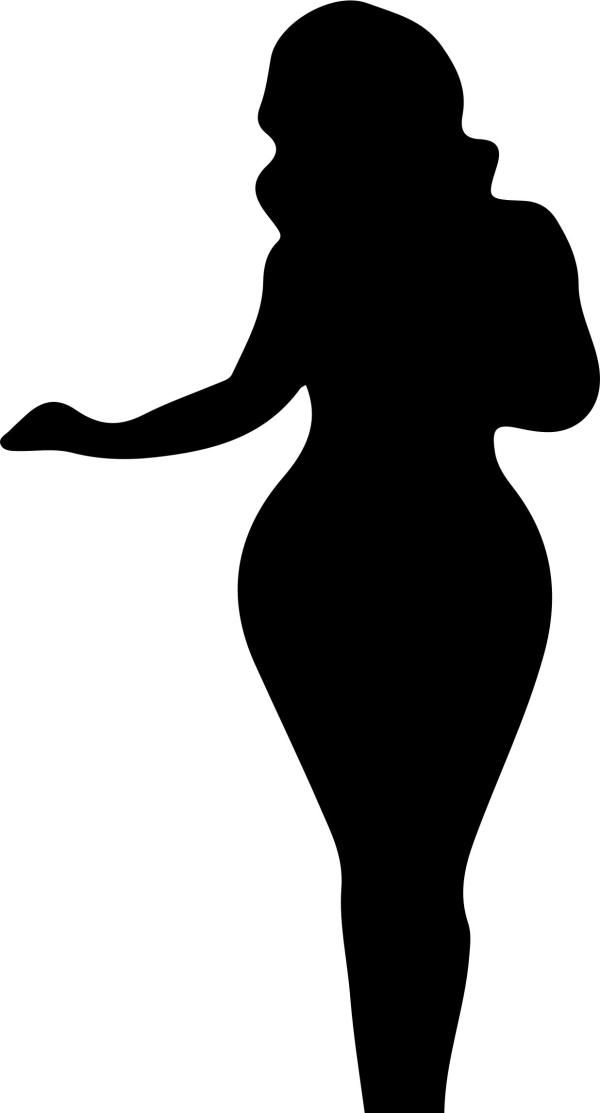 Black Woman Silhouette Clip Art at GetDrawingscom Free