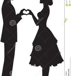 846x1300 bride and groom clipart silhouette collection [ 846 x 1300 Pixel ]