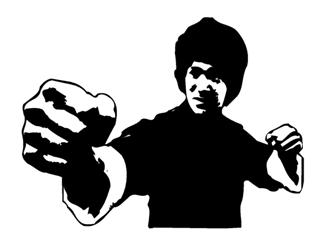 Bruce Lee Silhouette At Free For Personal Use Bruce Lee Silhouette Of Your Choice