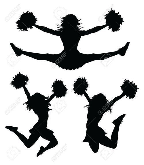 small resolution of 1133x1300 cheerleading clipart