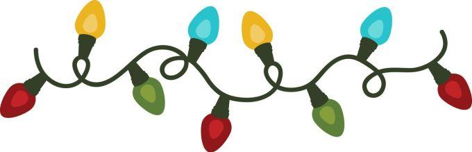 christmas silhouette lights christmaswalls co
