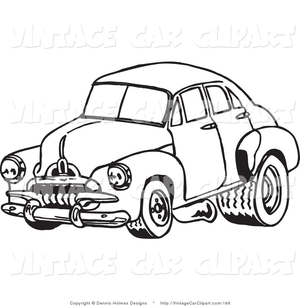 Classic Car Silhouette At Getdrawings