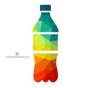 coke bottle silhouette at