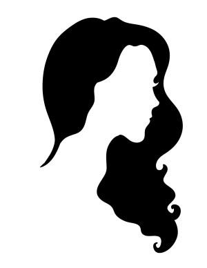 silhouette cool silhouettes woman seductive vector hair huh something female getdrawings mermaid icon salon