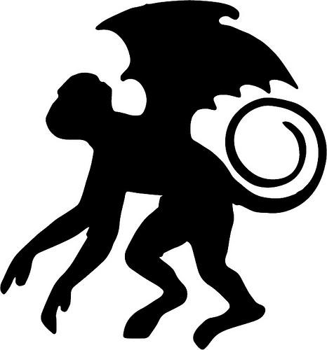 Image result for wizard of oz flying monkeys public domain image