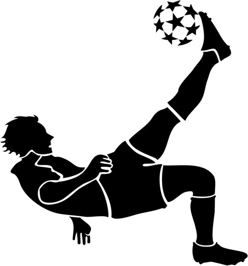 small resolution of 1118x1200 image of football player clipart