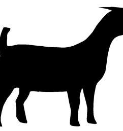 1280x929 boer goat silhouette clipart panda [ 1280 x 929 Pixel ]