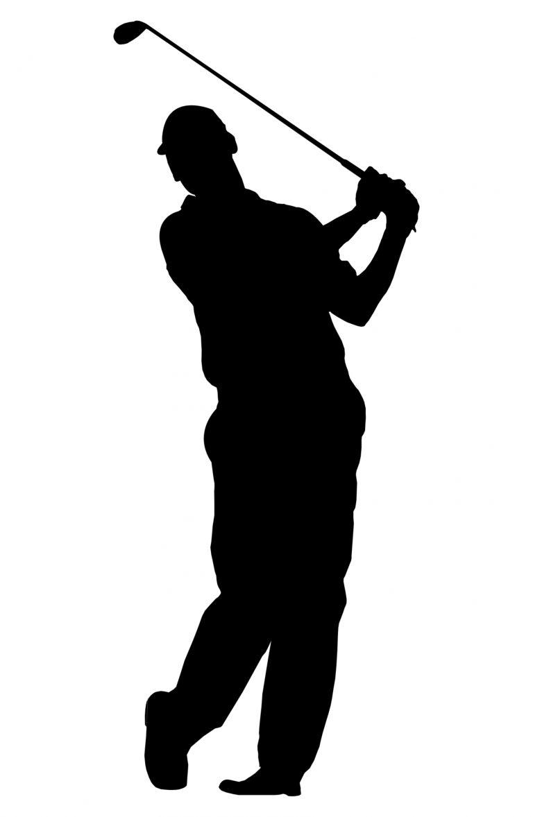 medium resolution of 768x1178 pretentious golfer silhouette vector free golf clip art 34