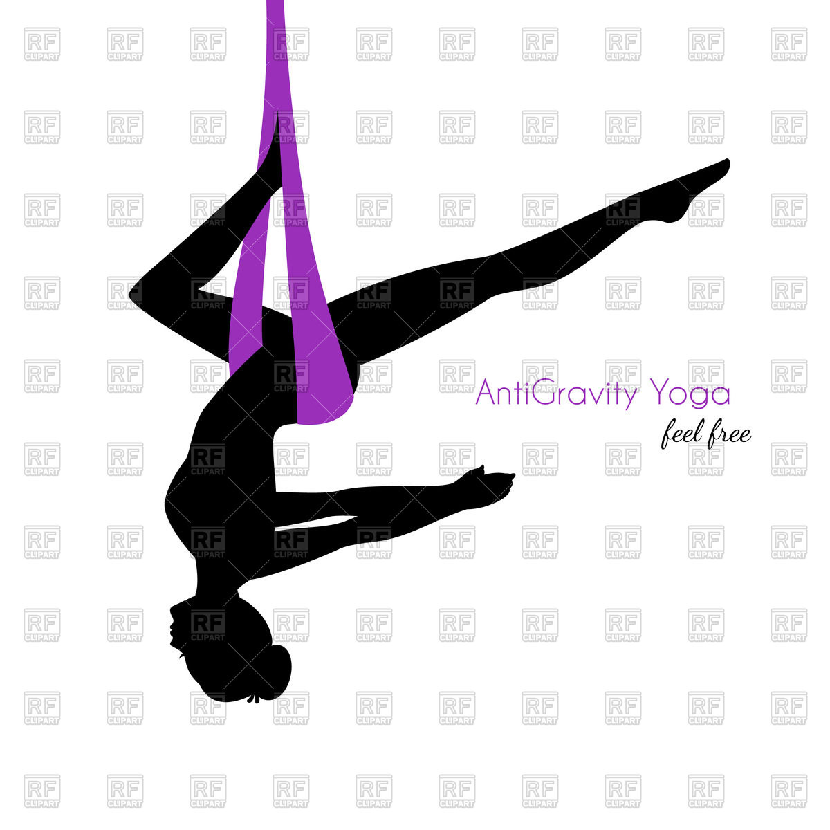 hight resolution of 1200x1200 silhouette of woman in anti gravity yoga poses royalty free vector