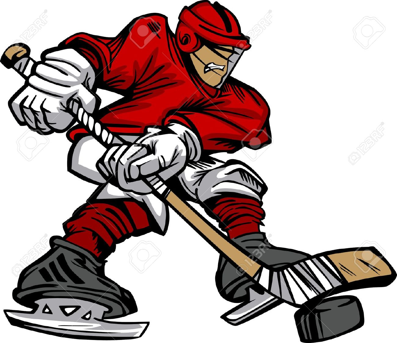 hight resolution of 1300x1123 hockey player clipart free 101 clip art