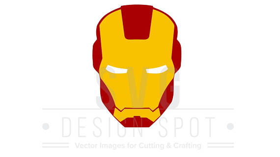 masks clipart iron man