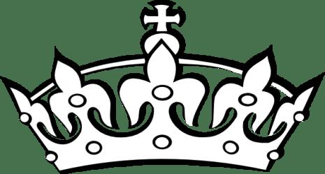 crown silhouette kings king clipart getdrawings