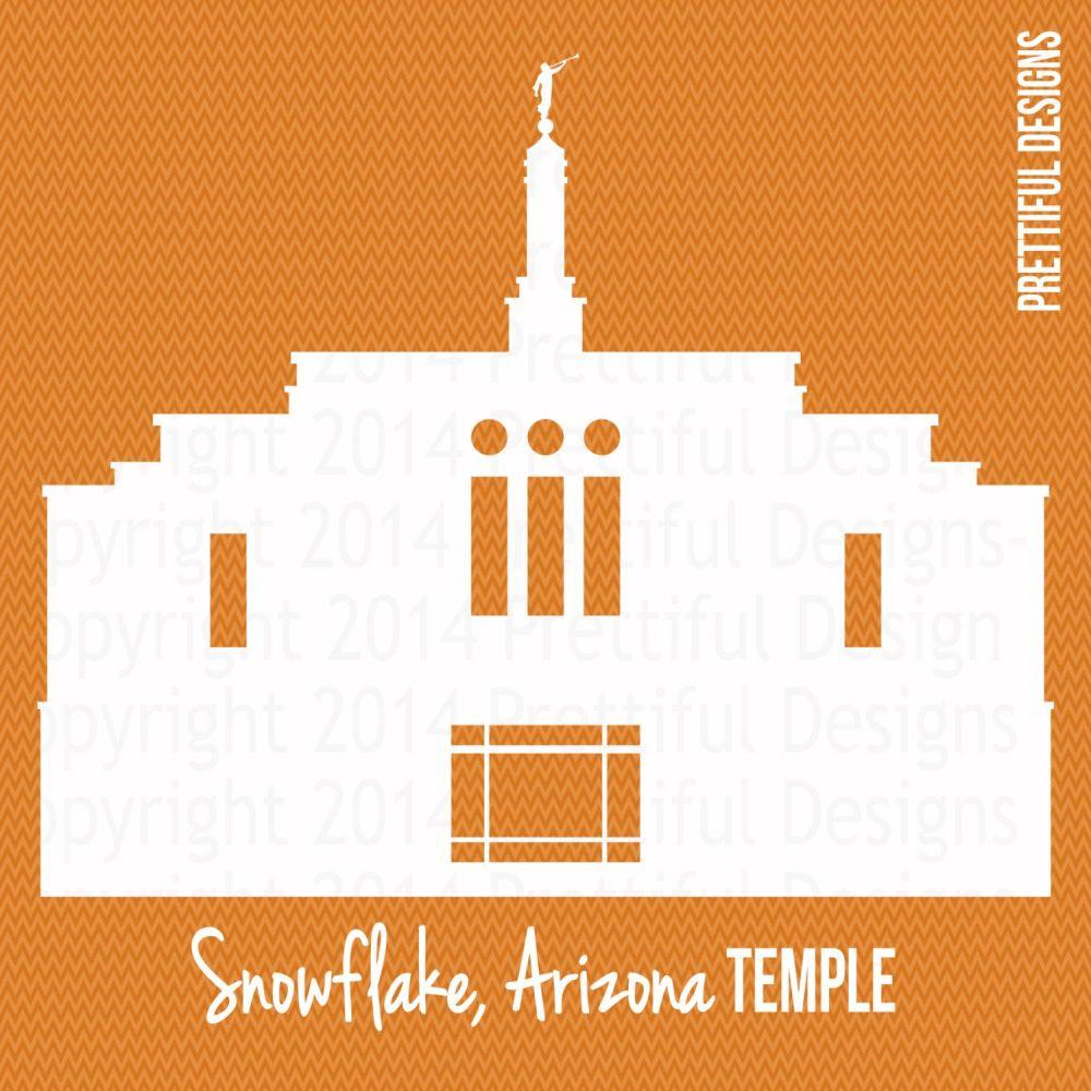 medium resolution of 1500x1500 snowflake arizona temple silhouette lds mormon clip art png eps