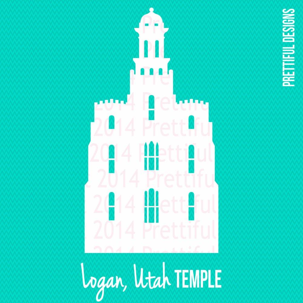 medium resolution of 1500x1500 logan utah temple silhouette lds mormon clip art png eps svg