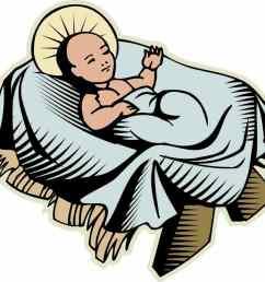 1184x1029 baby bed s cartoon jesus crib clipart cute baby christ stock [ 1184 x 1029 Pixel ]
