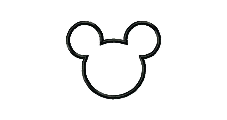 Mickey Mouse Head Silhouette Clip Art at GetDrawings.com