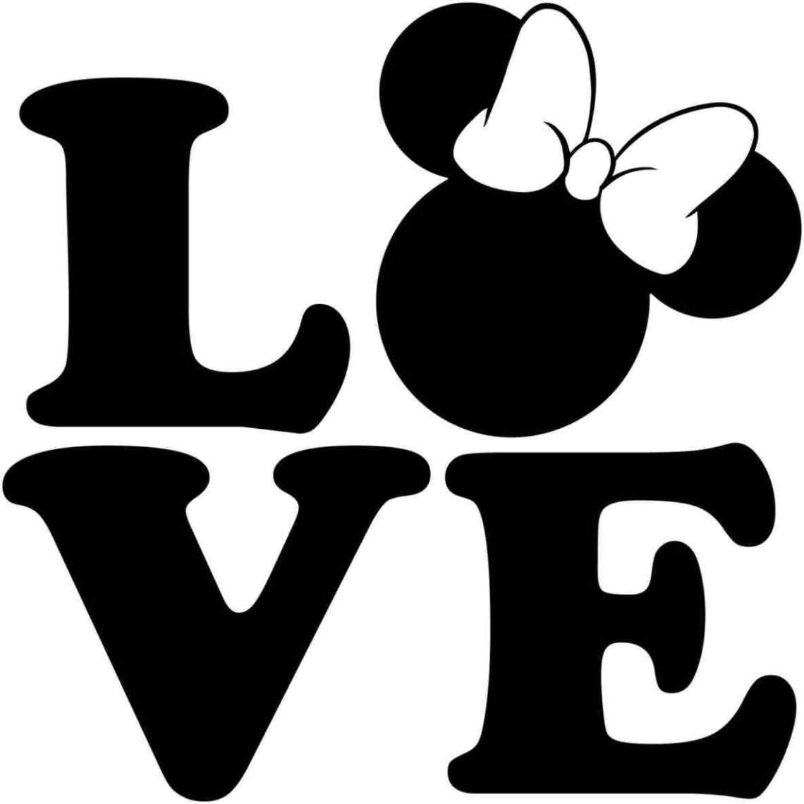 Download Minnie And Mickey Mouse Silhouette at GetDrawings | Free ...