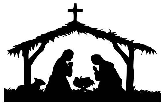 Download Nativity Silhouette Svg at GetDrawings | Free download
