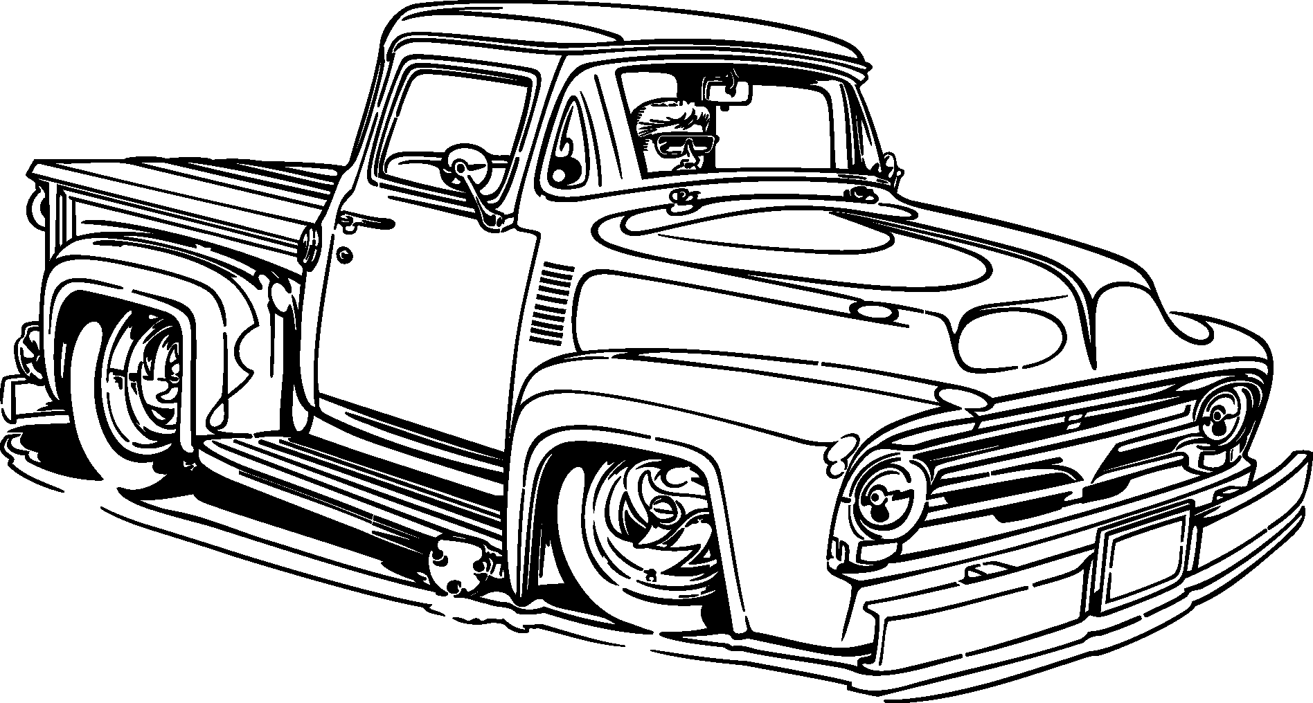 Old Car Silhouette At Getdrawings