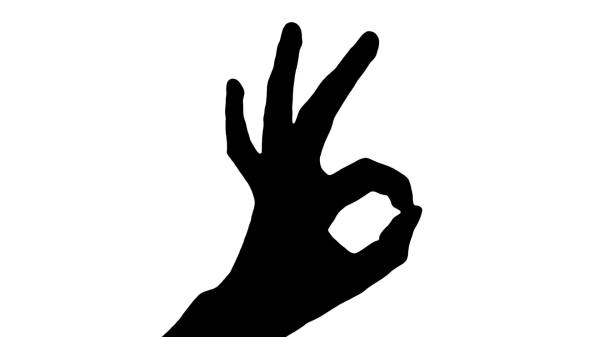 Peace Sign Silhouette at GetDrawingscom Free for