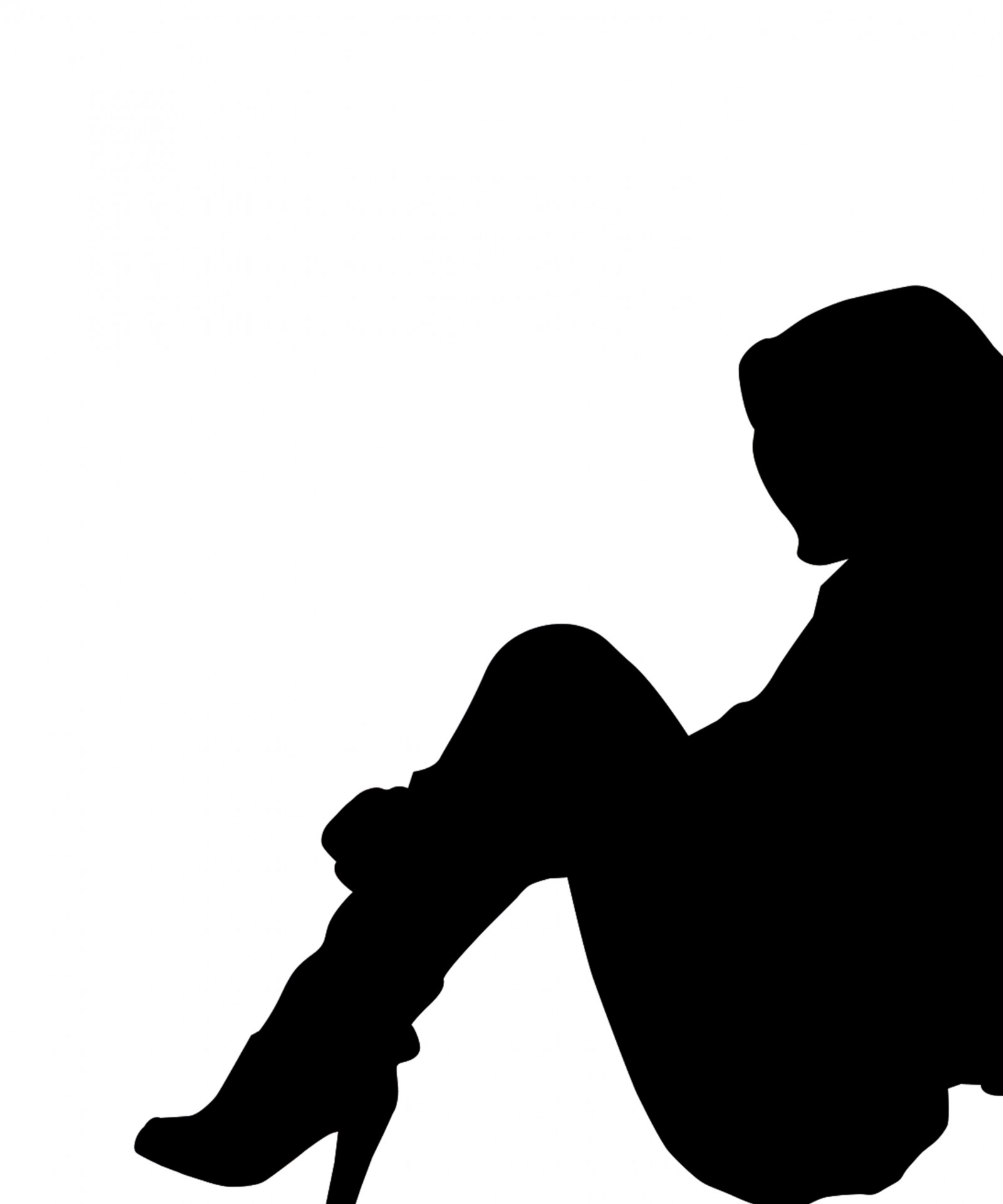 hight resolution of 1601x1920 person clipart silhouette woman