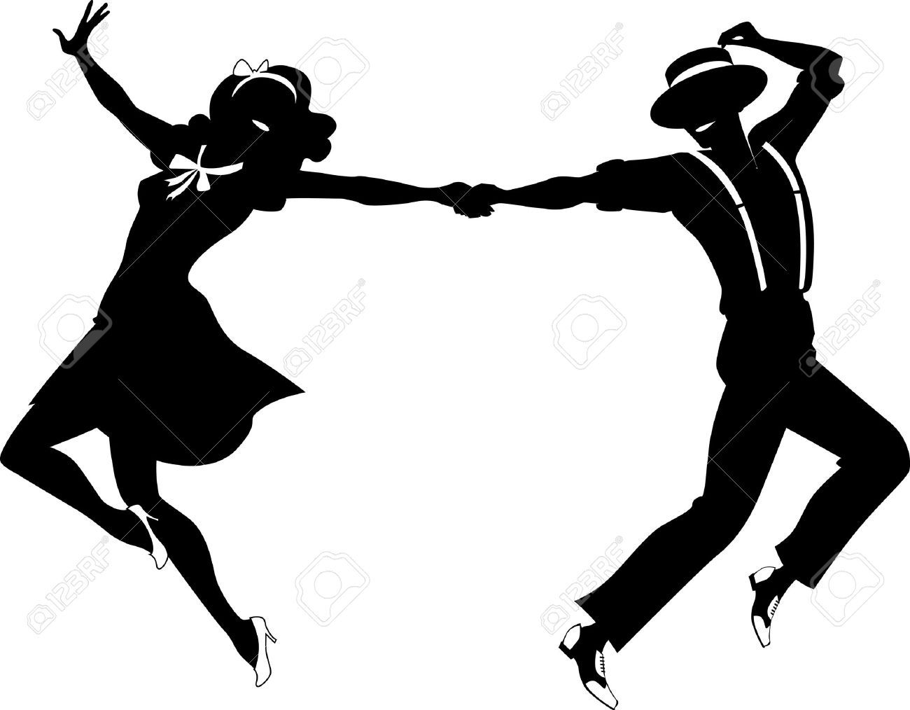 hight resolution of prom silhouette clip art