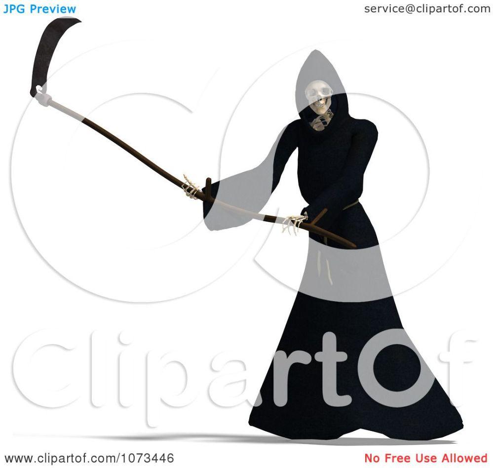 medium resolution of 1080x1024 clipart 3d grim reaper of death swinging a scythe 4