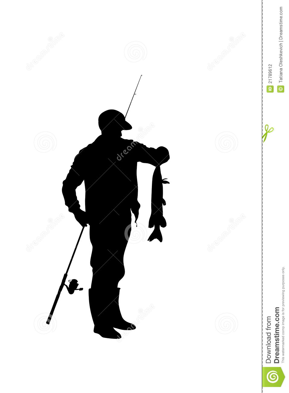hight resolution of 957x1300 fisherman with catching fish clipart panda