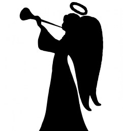 1371x1920 angel silhouette clipart free stock photo [ 1371 x 1920 Pixel ]