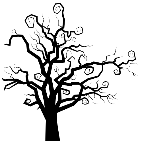 small resolution of 6155x6103 spooky tree silhouette png clipart imageu200b gallery yopriceville