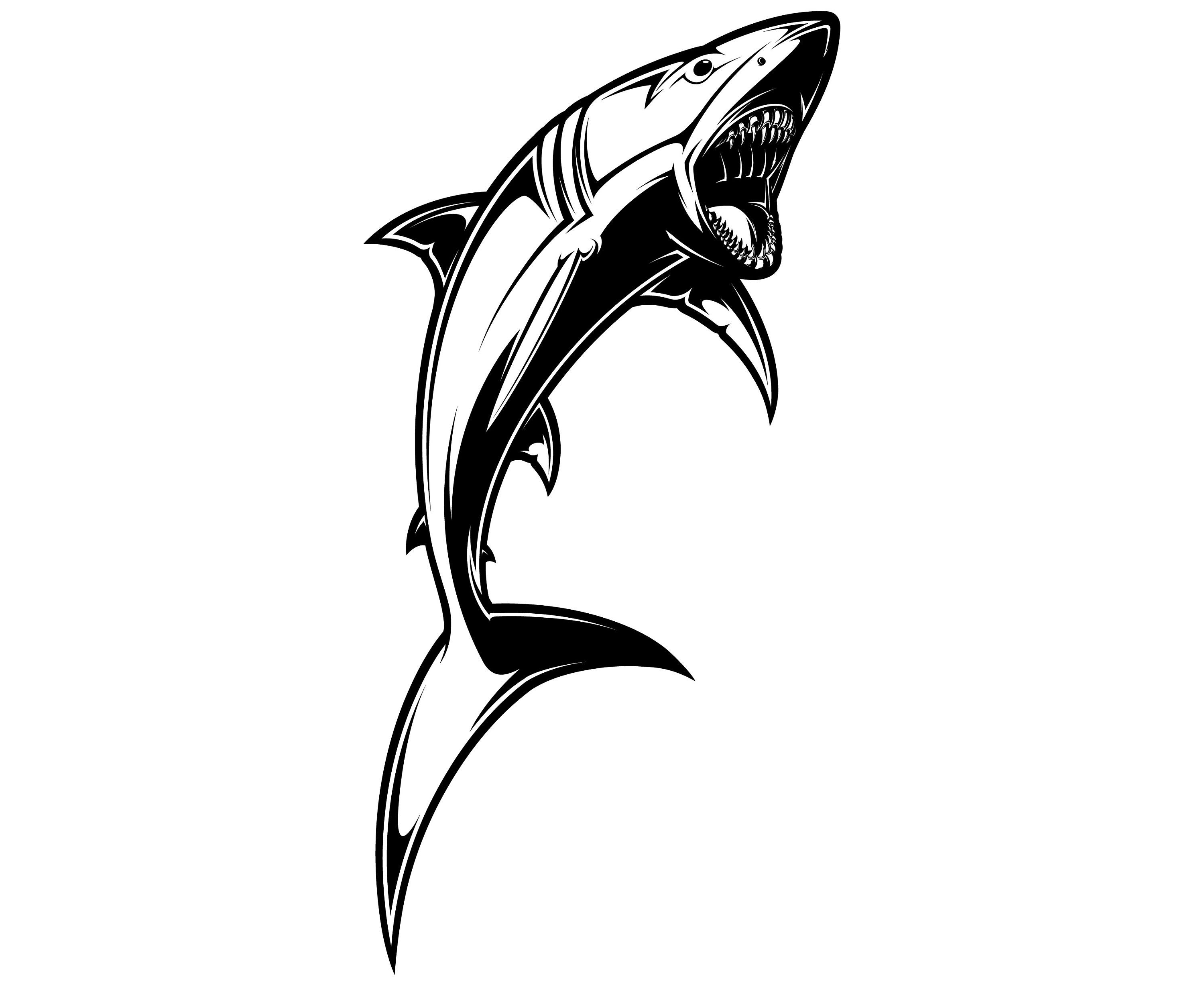 The Best Free Shark Silhouette Images Download From 483
