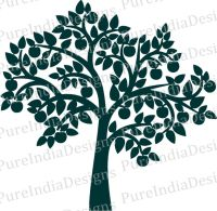 Silhouette Tree Wall Decal at GetDrawings.com | Free for ...