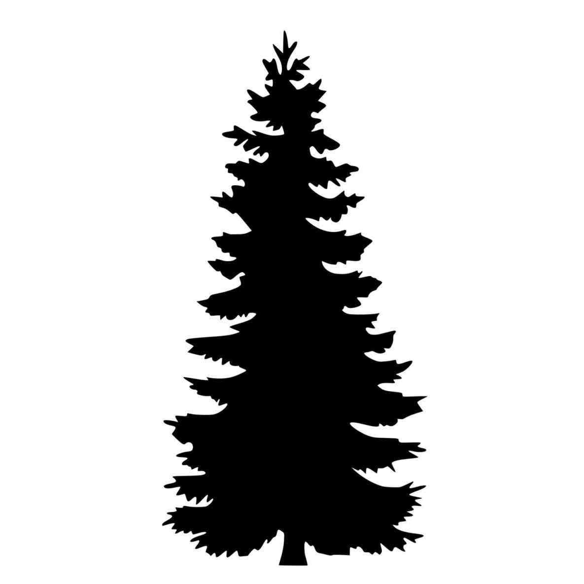 hight resolution of 1185x1185 silhouette clipart pine tree