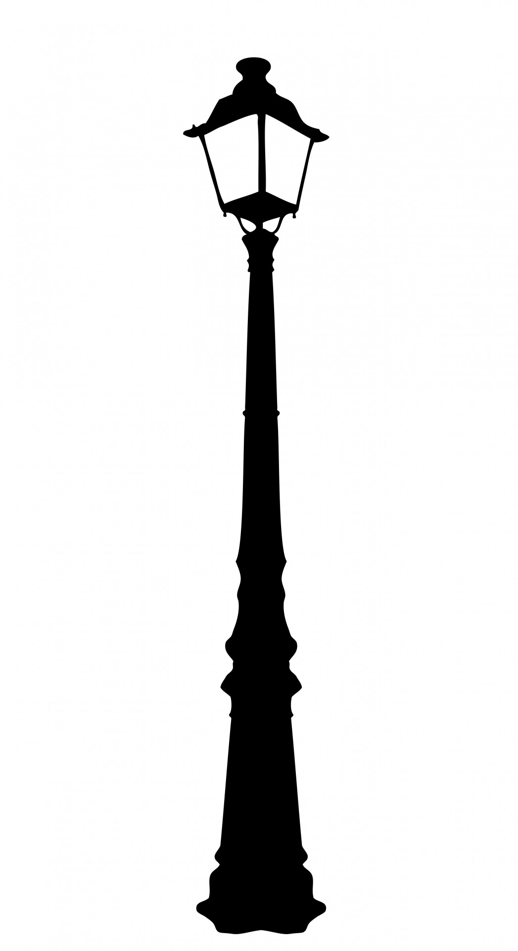 Street Lamp Silhouette At Getdrawings