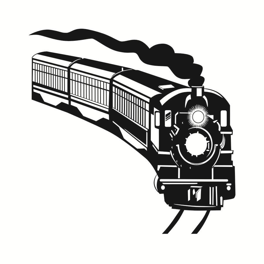 hight resolution of 900x900 train silhouette wall decals army locomotive home decor vinyl
