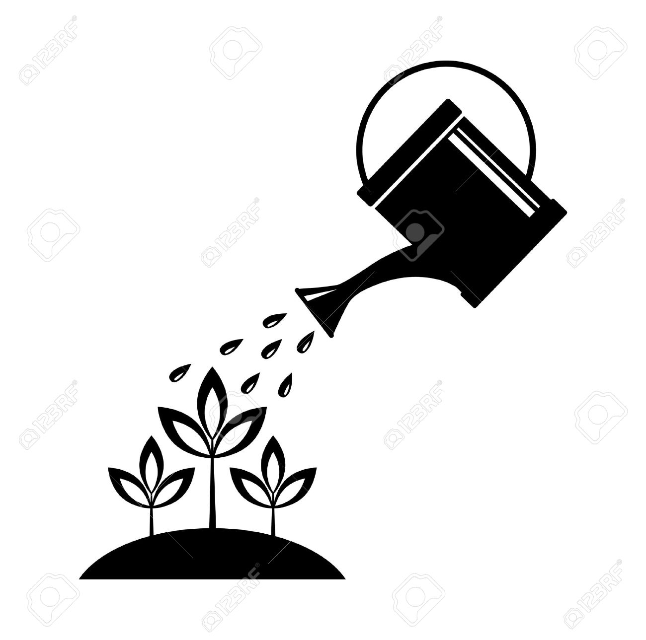 hight resolution of 1300x1289 16666854 watering can stock vector plant jpg pixels