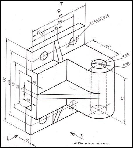 Autocad Basic Drawing Exercises Pdf at PaintingValley.com