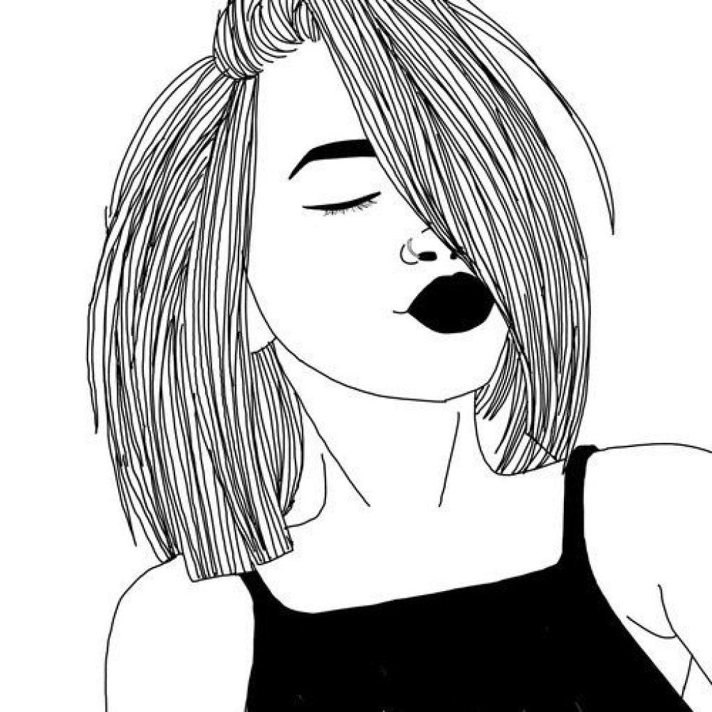 Black Girl With Natural Hair Drawing At Getdrawings Free Download
