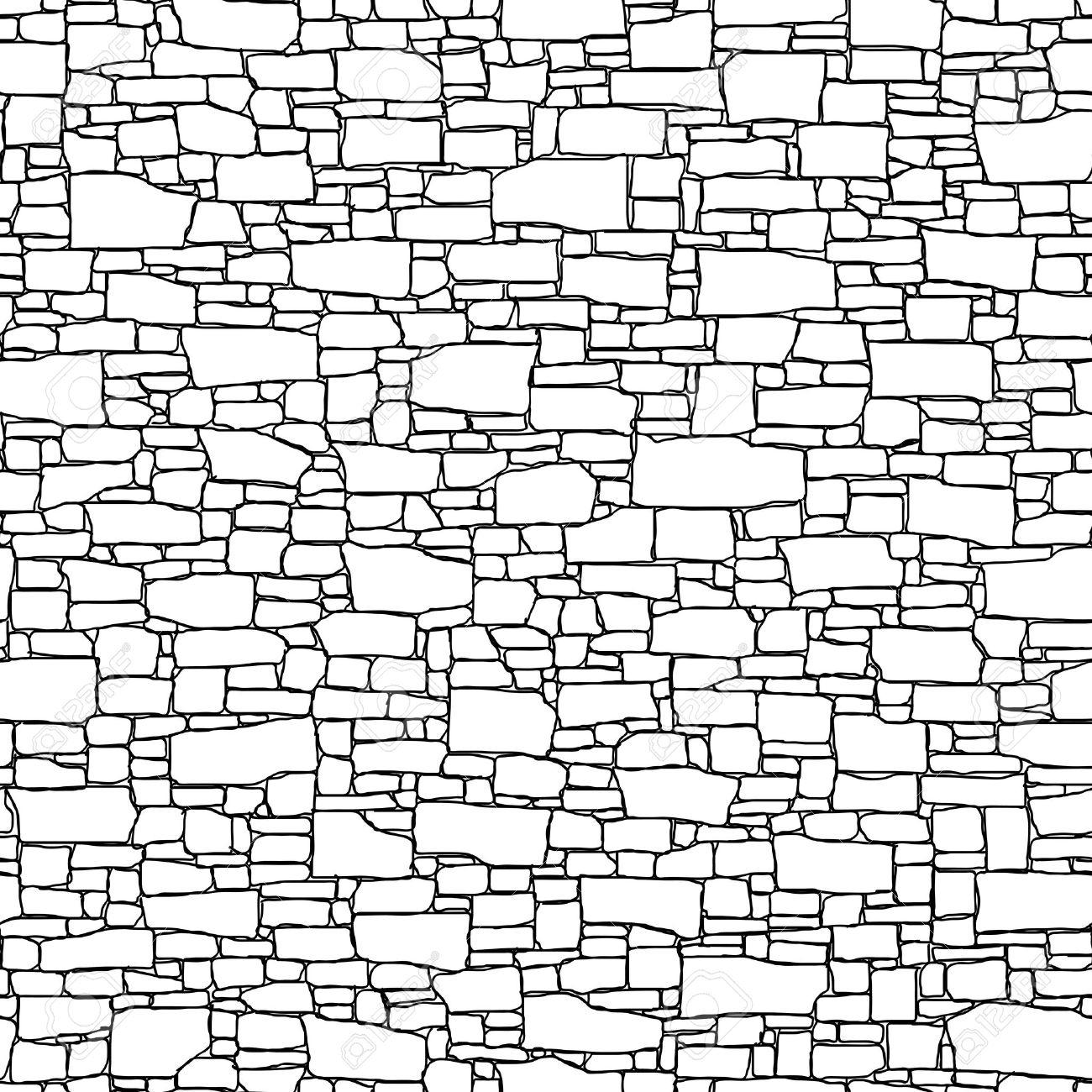 Brick Wall Texture Drawing At Getdrawings