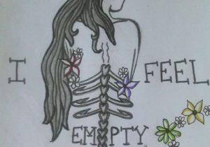 depression drawing easy drawings getdrawings