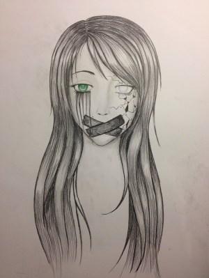 depression easy drawing drawings drawn getdrawings