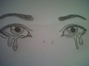 sad eyes easy drawing depression drawings depressing quotes getdrawings quotesgram