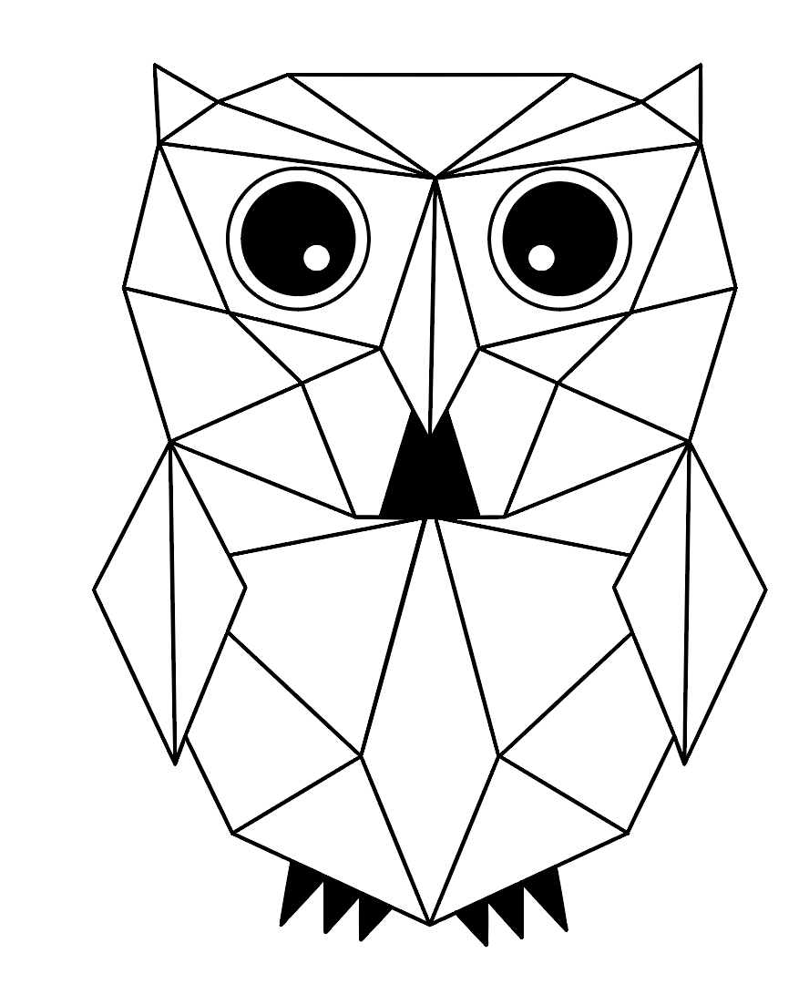 Drawing Pictures Using Geometric Shapes at GetDrawings.com