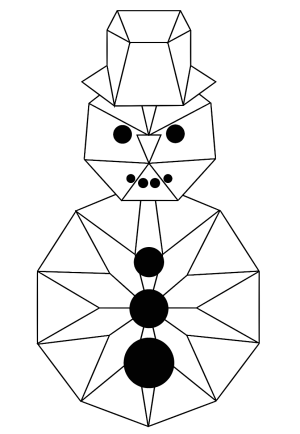 geometric shapes drawing using designs behance getdrawings