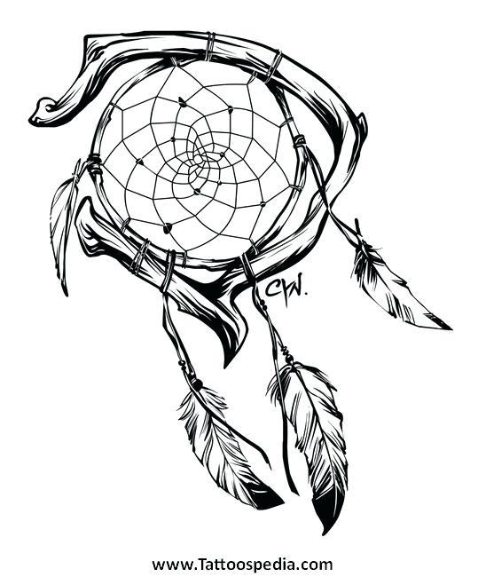 Wolf Dreamcatcher Tattoo Design By Rozthompsonart On
